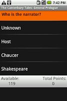Screenshot of The Canterbury Tales: Gener...