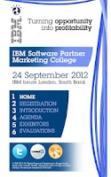 Screenshot of IBM Events
