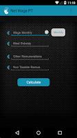 Screenshot of Simulador Salário Líquido