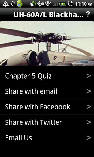 UH-60 Limits Quiz Blackhawk