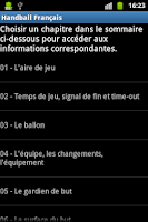 Screenshot of Handball Français