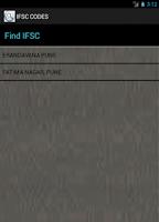 Screenshot of Ifsc Code