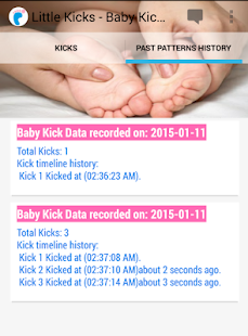 Little Kicks-Baby Kick Counter - screenshot