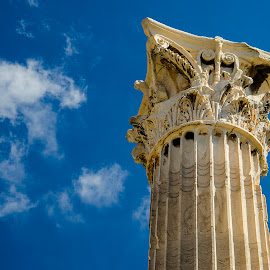 Column: dedicated to Zeus by Sergios Georgakopoulos - Buildings & Architecture Architectural Detail