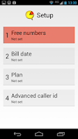 Screenshot of Call Timer Pro - Data Usage