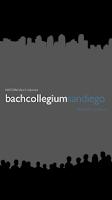 Screenshot of Bach Collegium San Diego