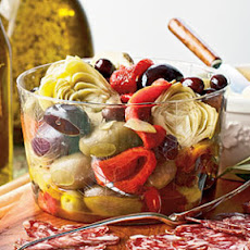 Marinated Peppers, Artichokes, and Olives