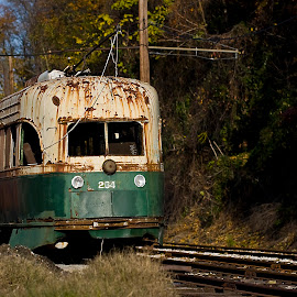 All Aboard... by Rod Schrader - Transportation Trains ( trolley, railroad, train, maryland, no.254,  )