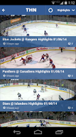 Screenshot of The Hockey Network