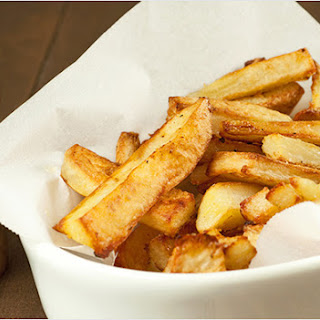 Spicy Garlic Oven Fries