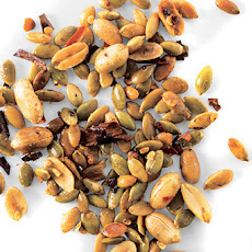 Chile Peanut and Pumpkin Seed Snack Mix