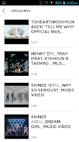 Screenshot of SHINee (KPOP) Club