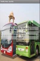 Screenshot of Delhi Bus Guide