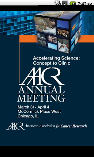 2012 AACR Annual Meeting App