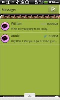 Screenshot of GO SMS THEME/Watermelon Shoes