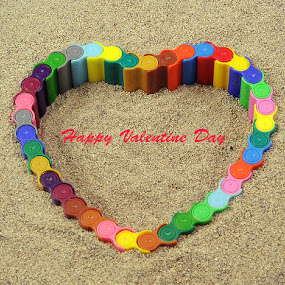Valentine Day  by Viryawan Vajra - Typography Captioned Photos ( love, postcard, valentine's day )