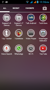 Blurry Kitkat Round Theme Pack - screenshot
