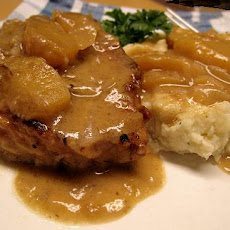 Crock Pot Normandy Pork With Apples, Shallots & Cider