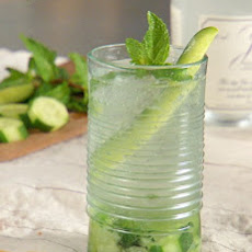 Cucumber-Mint Gin and Tonic