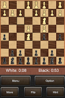 Screenshot of Majestic Chess Board Game