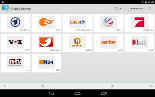 Screenshot of Tvisted TV Remote for Samsung