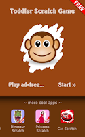 Screenshot of Toddler Scratch Game Free