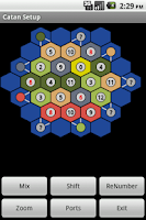 Screenshot of Catan Setup
