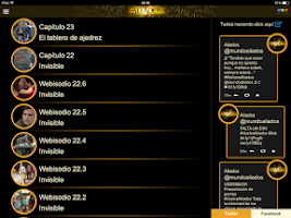 Screenshot of Aliados Interactivo