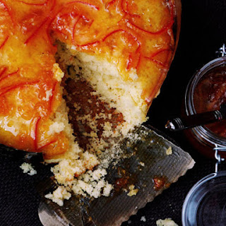 Olive Oil Cake with Tangerine Marmalade