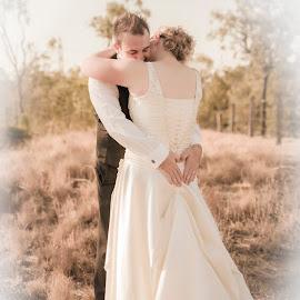 by Kathryn Cherry - Wedding Bride & Groom (  )