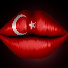 Welcome to Turkey, KISS! by Markham Mack - Web & Apps Icons ( icon. turkey. flag. lips. )