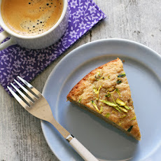 Maple Sweetened Gluten-free Zucchini Quinoa Breakfast Cake