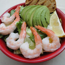 Avocado and Prawn/Shrimp Salad