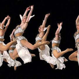 Perfect Group Leap by Jon Cardona - Sports & Fitness Other Sports ( performance art, costume, dance )