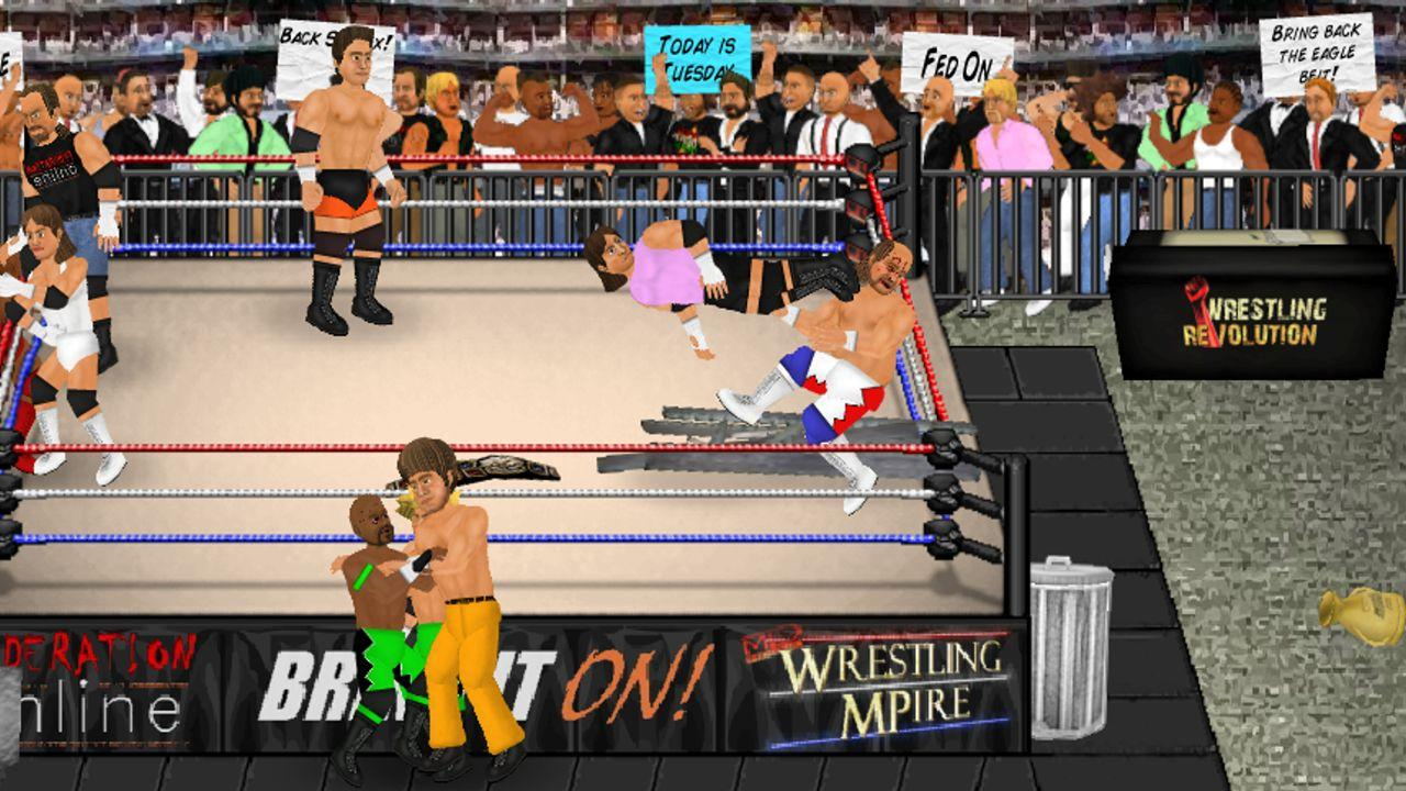 Wrestling Revolution Screenshot 8