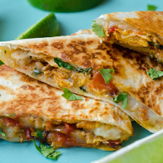 Chipotle Chicken Quesadillas