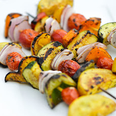 Balsamic Vegetable Skewers