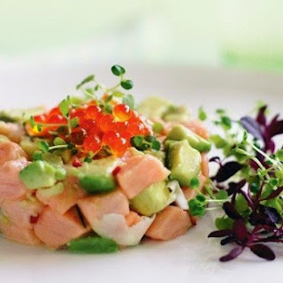 Ceviche Of Salmon And Avocado