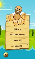 Screenshot of Log Run