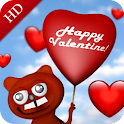 Valentine - 3D live wallpaper icon