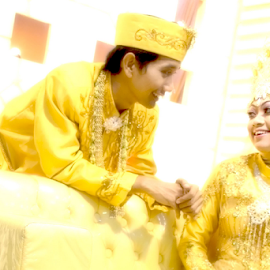 golden moment by Didit Baihaqi - Wedding Bride ( love, potrait, moment, wedding, golden )