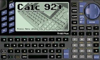 Screenshot of Calc 92+ Donation