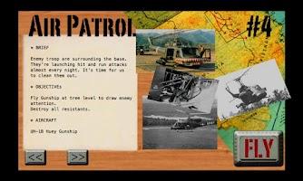 Screenshot of Gunship-II Lite