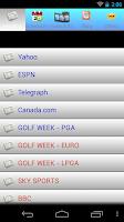 Screenshot of Golf NEWS