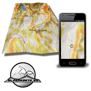 STUBAI ALPS winter sports map