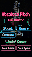 Screenshot of Guitar Practice Perfect Pitch