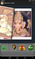 Screenshot of Ganesha Aarti : 3D Book