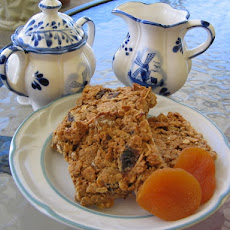 Honey, Date and Apricot Slice