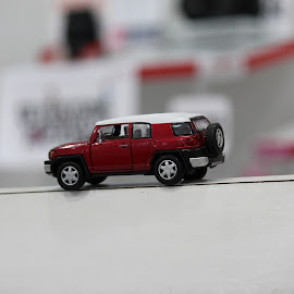 Red Car by Ankit Toppo - Artistic Objects Toys