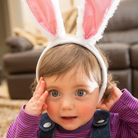 Easter Bunny by David Iles - Babies & Children Children Candids